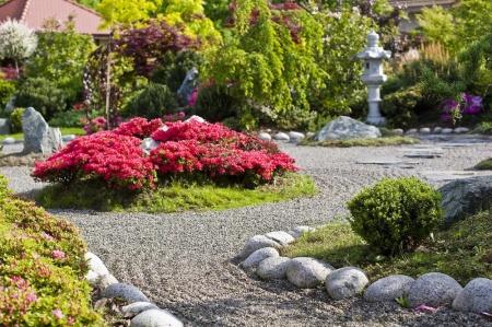 ogrod kamienny to czesc calosci ogrodu przy Szkolce Roslin IBUKI
